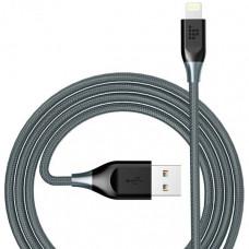Кабель Tronsmart Lightning MFi 19AWG 1.2m Nylon Cable Grey